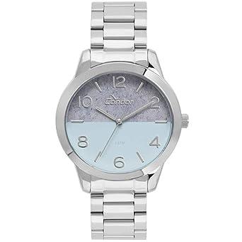 408c58175b0 Relógio Feminino Condor Eterna CO2035KWB 3A - Prata  Amazon.com.br ...