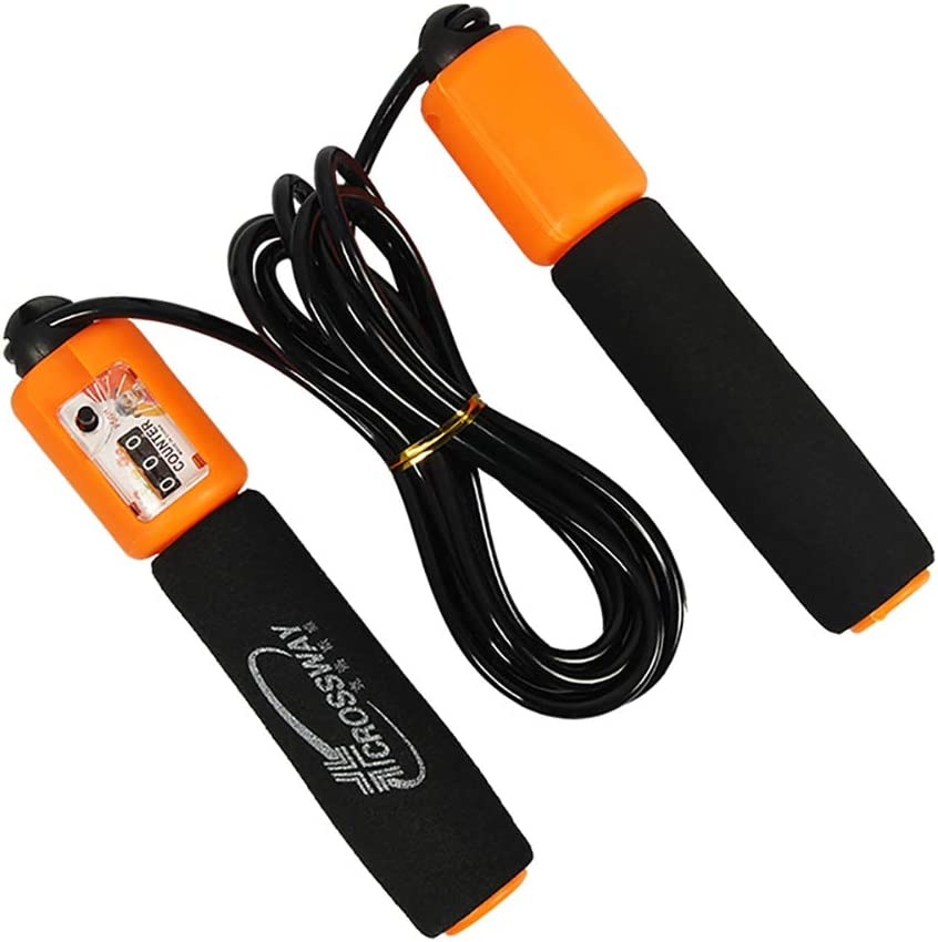 MAIBOLE Jump Rope with Counter Adjustable Skipping Rope Workout Speed Ropes for Kid Student Gifts Home Fitness /& Exercise
