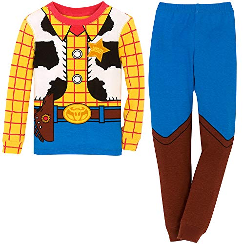 Disney Woody Costume PJ PALS for Boys Size 4 Multi