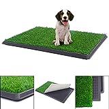 Tobbi Puppy Pet Potty Training Pee Indoor Outdoor Toilet Dog Grass Pad Mat 30″x20″ For Sale