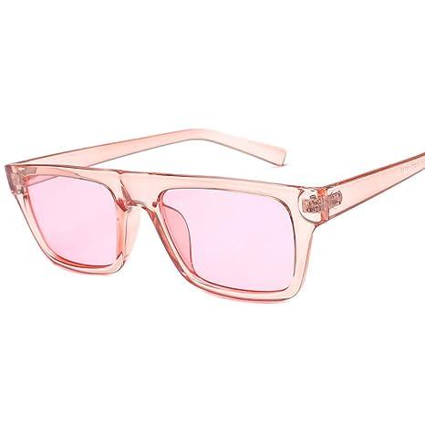 Yangjing-hl Gafas de Sol de Caja pequeña Gafas de Sol Retro ...
