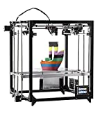 FLSUN 3d Printer Square DIY Kit Touch Screen Auto Leveling Printing size 260X260X350 with Auto Level heated Bed Precision