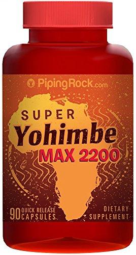 Super Yohimbe Max 2200 90 Capsules
