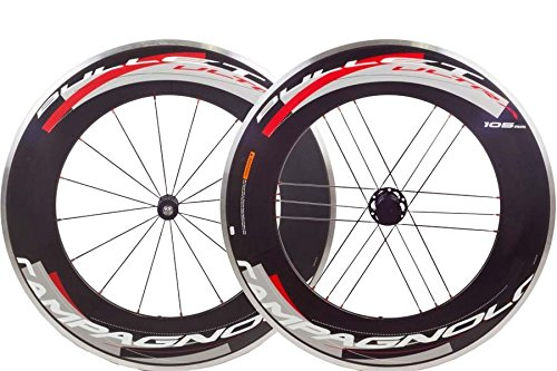 Campagnolo Bullet Ultra 105mm Clincher Wheel Set Bright Label - Campy Hub