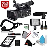 Panasonic AG-AC160A AVCCAM HD Handheld Camcorder International Version (No Manufacturer Warranty) + Sandisk 32gb ULTRA SDHC Memory Card + 2 Year Extended Warranty Kit