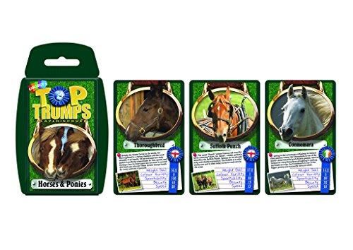 Horses & Ponies Top Trumps Card Game | Educational Card G...