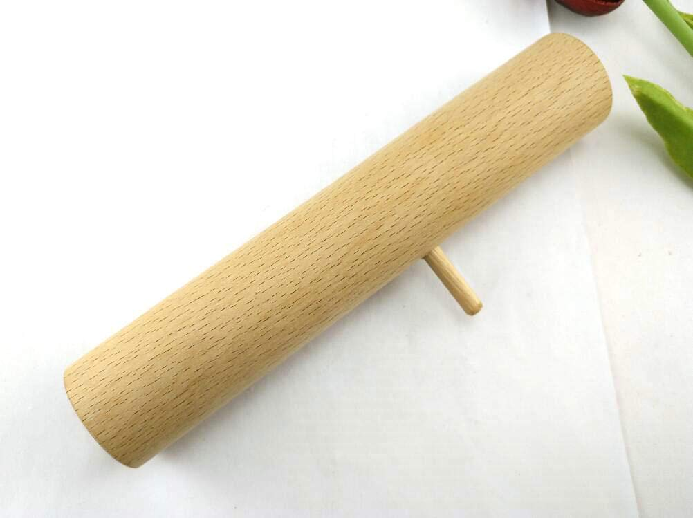 Solid Wood Meat Grinder pusher stomper for Kitchenaid Waring Pro Rival etc. From Butcher-Baker.