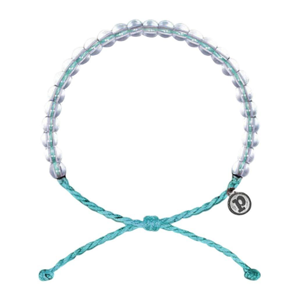 Qvwanle Women Bracelet Sweet Lovely Ocean Stone Bracelet Bohemian Style Weaving Bracelet (Light Blue)
