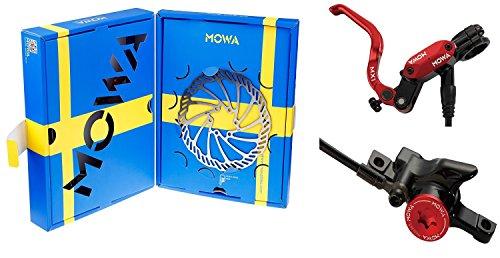 MOWA MTB Mountain Cyclocross Bicycle Bike Hydraulic Disc Brake Set 160mm Red