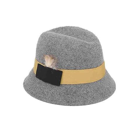 Sunny Moda Sombrero Cloche Gorras Invierno para Mujer,Estilo De ...