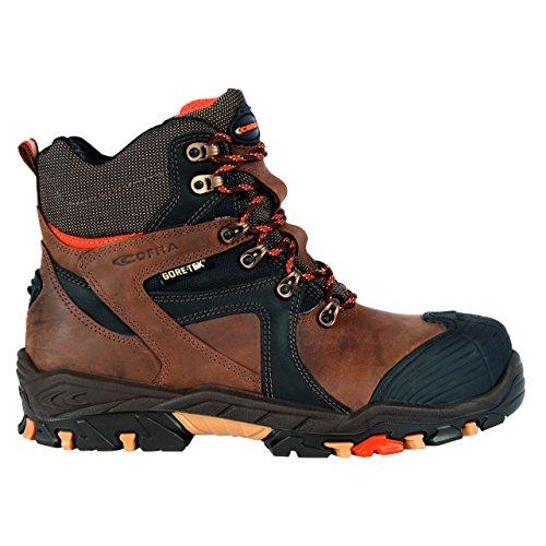 Cofra Ramses S3 Wr SRC Paire de Chaussures de sécurité Taille 39 Marron