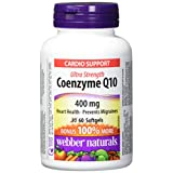 Webber Naturals Coenzyme Q10 Ultra Strength Softgel, 400mg (Packaging may Vary)