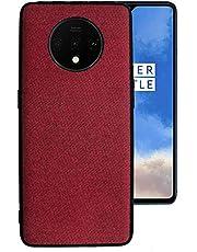 Proze OnePlus 7T Phone Case, Fabric Finish Hard TPU Case for OnePlus 7T