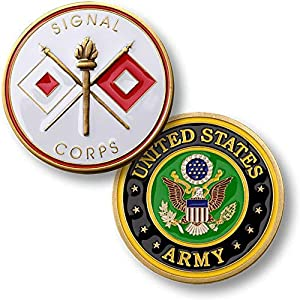 U.S. Army Signal Corps Challenge Coin by Armed Forces Depot