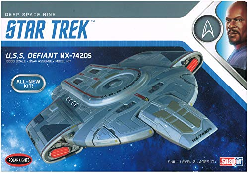 Polar Lights POL952 1:1000 USS Defiant-Star Trek: Deep Space Nine