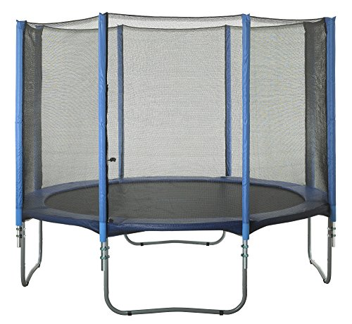 Upper Bounce 8 Pole Trampoline Enclosure Set to fit 15 FT. Trampoline Frames with Set of 4 or 8 W-Shaped Legs (Trampoline Not Included) by Upper Bounce (Image #6)