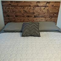 King English Chestnut Rustic, Chic Wood Headboard