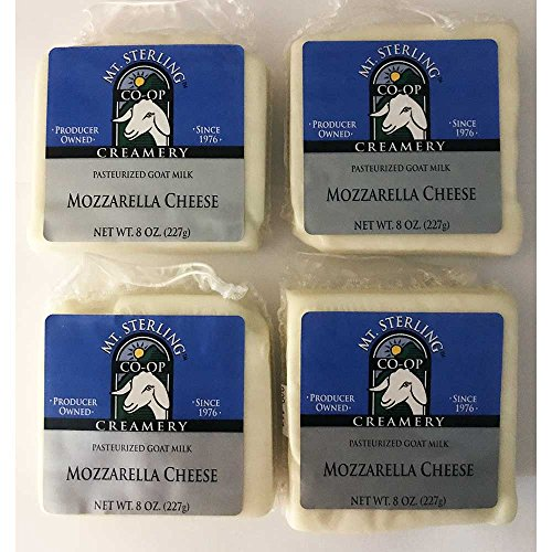 (Goat Milk Mozzarella Cheese - Four 8 oz. Packages)