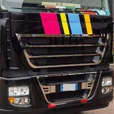 Cube et Hiway Truckdanet Accessoires en acier inoxydable pour camion Stralis