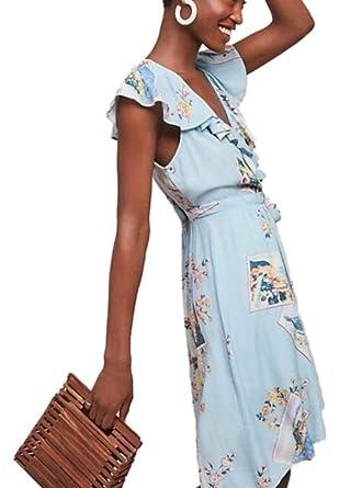 b128bf45d74f Anthropologie Rosalia Wrap Dress by Maeve- NWT (14) at Amazon ...