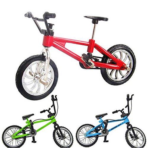 Couleur Al/éatoire Miniature M/étal Jouets Sports extr/êmes Doigt V/élo Mountain Bike Creative Jeux Enfants No/ël Cadeau Bicyclette de doigt