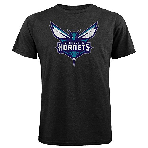 NBA Charlotte Hornets Men's Premium Triblend Crew Tee, Large, - Premium Charlotte