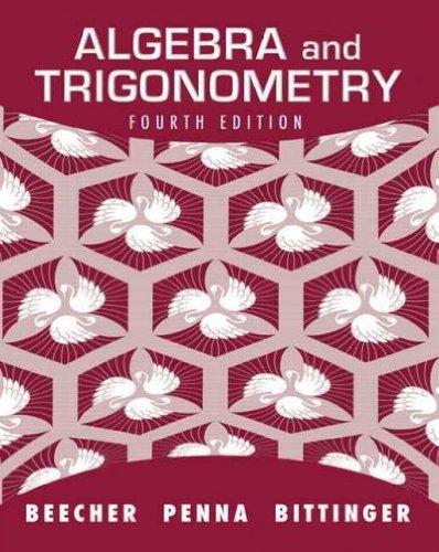 Algebra and Trigonometry [With Access Code] [ALGEBRA & TRIGONOMET-4E W/CODE] [Hardcover]