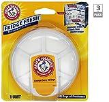 baking soda fridge fresh - Arm and Hammer Fridge Fresh Air Filters (Pack of 3)