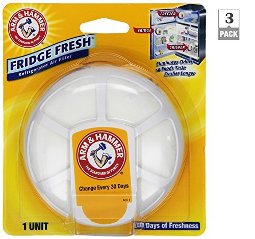 Arm and Hammer Fridge Fresh Air Filters (Pack of 3)