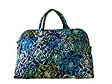 Vera Bradley Weekender Tote (Katalina Blues with Navy Interior)