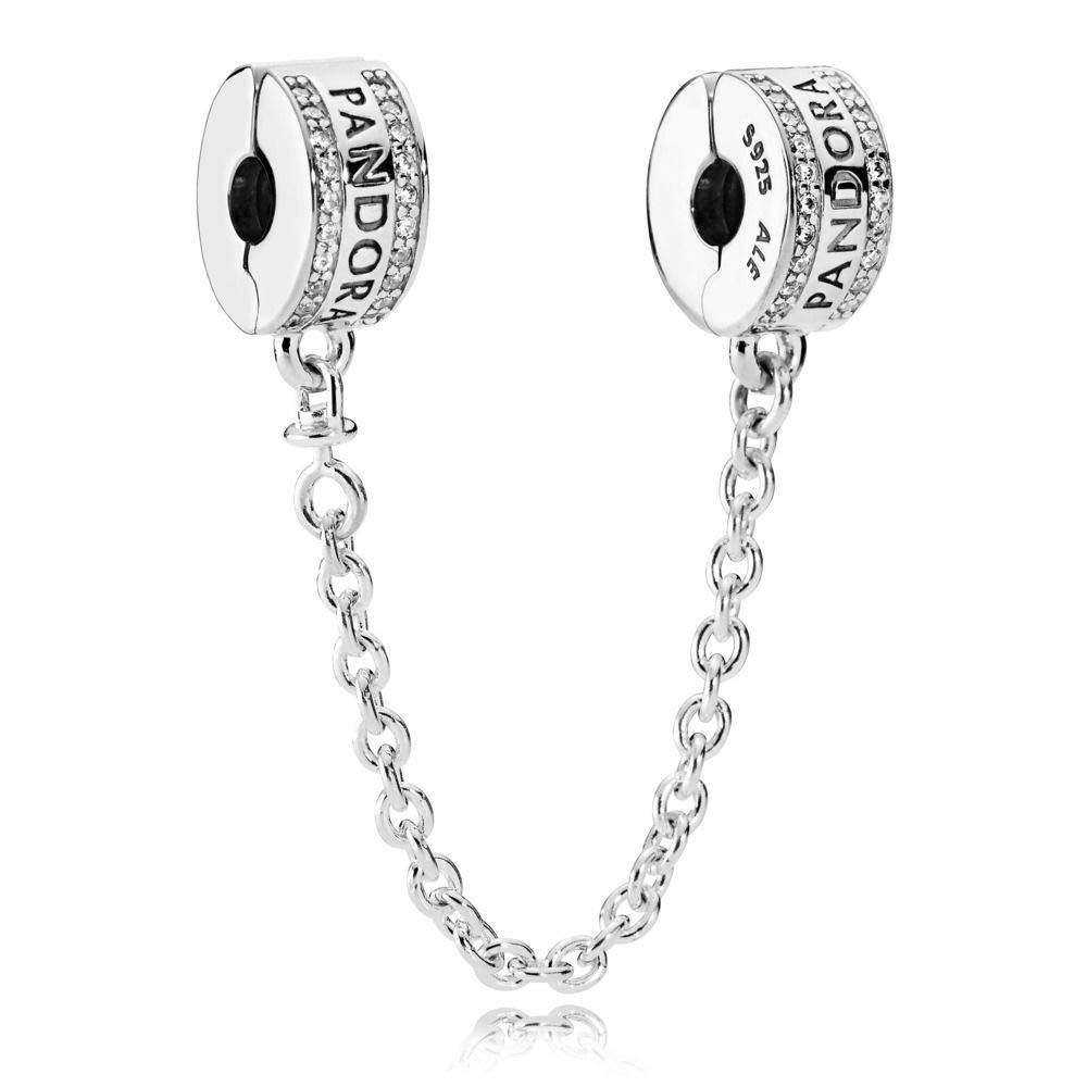 Pandora Logo Safety Chain