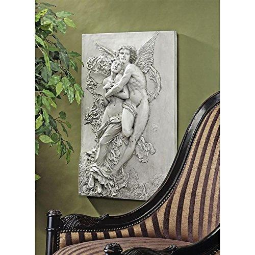 Design Toscano Cupid and Psyche Sculptural Wall Frieze
