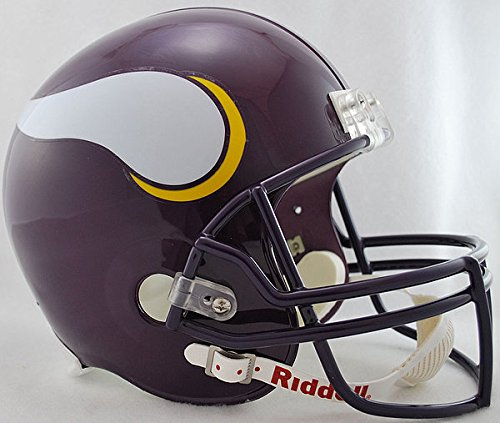 Riddell NFL Minnesota Vikings 1983-2001 Throwback Replica Vsr4 Full Size Football Helmet