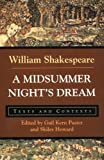img - for A Midsummer Night's Dream: Texts and Contexts (Bedford Shakespeare) book / textbook / text book