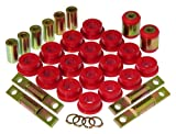 Prothane 8-318 Red Rear Upper and Lower Control Arm Bushing Kit