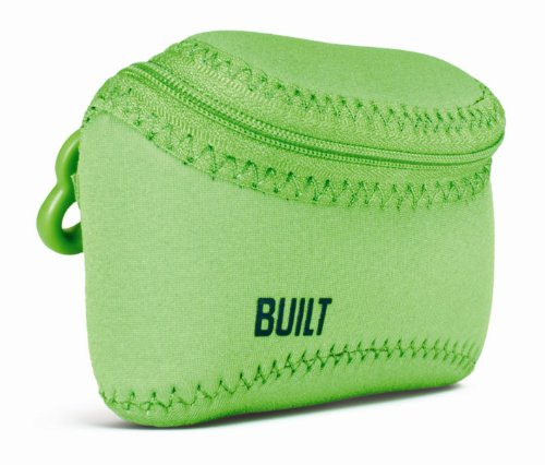 Built NY E-SS20-LIM Soft Shell Neoprene Compact Camera Case, Lime Green (Neoprene Soft Shell)