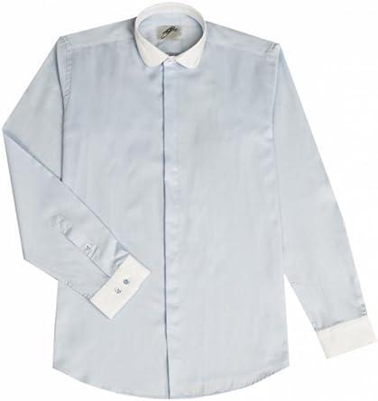 Dymastyle Camisa de Ceremonia Para Hombre Color Azul Cielo ...