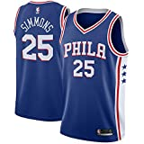 Diit Youth 76ers Simmons Blue Swingman Jersey - Icon Edition