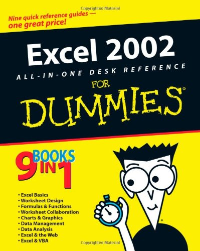Excel 2002 All-in-One Desk Reference For Dummies