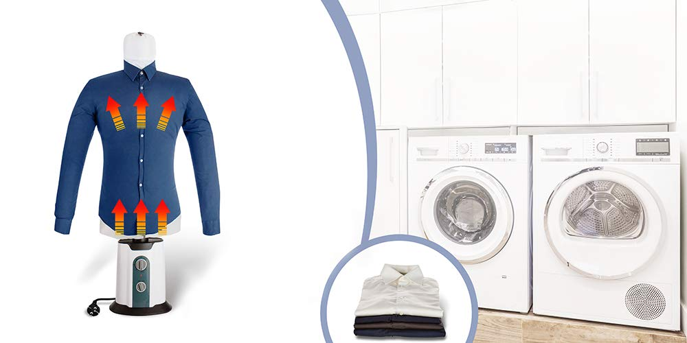 TECHNOSMART Shoe Accessories for Automatic Drying /& Ironing Machine Upto 65/° C Hot//Cold Air Dryer /& Ironer Tool for All Shoe Sizes