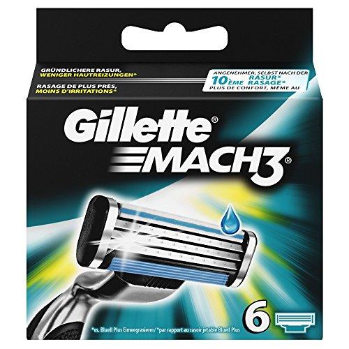 Datierung von Gillette Rasierer und Klingen