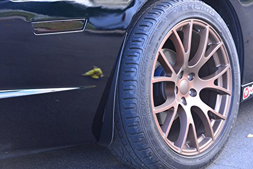 ZL1 Addons Front & Rear Deluxe Rock Guards - Compatible with 15-18 Charger RT, SXT, GT & 19 Charger SXT