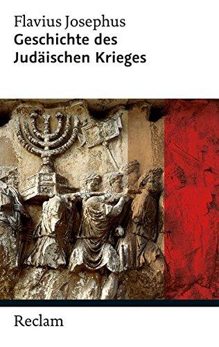 Geschichte Des Judäischen Krieges  Reclam Taschenbuch