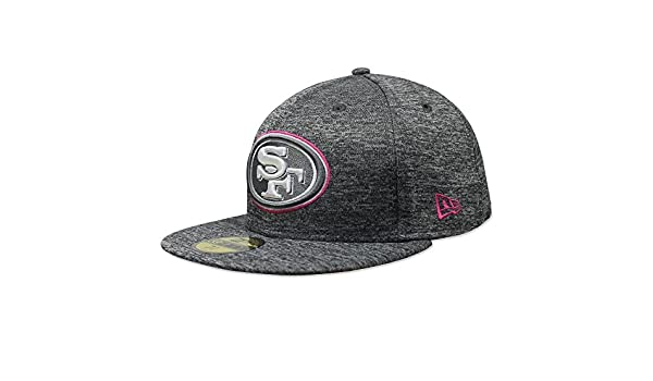 Amazon.com   New Era 59Fifty NFL16 BCA San Francisco 49ers Gray Fitted Cap    Sports   Outdoors 6f9865b0d