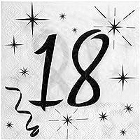 Chal–20servilletas cumpleaños 18años