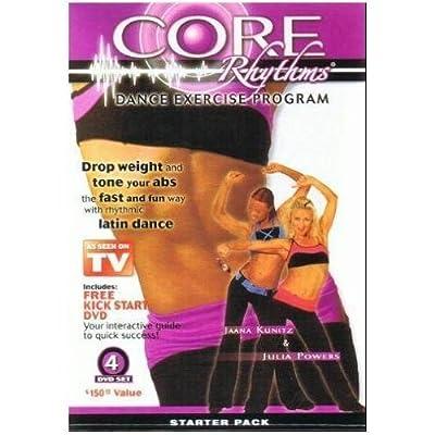 Core Rhythms Dance Exercise Program: Starter Pack