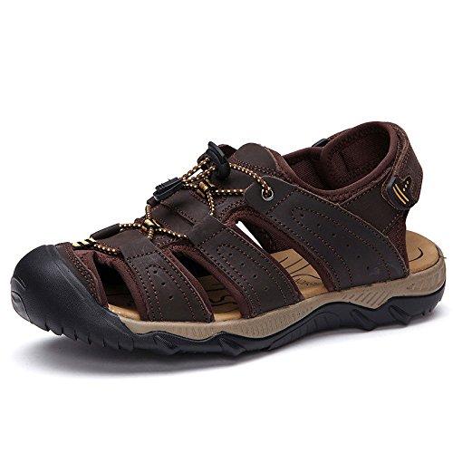 Sandalias Zapatos Darkbrown Playa De Casuales Verano x11gqYw4P