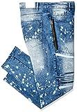 Southpole Men's Big and Tall Super Skinny Biker/Moto Denim Pants, Snow Blue 1, 48