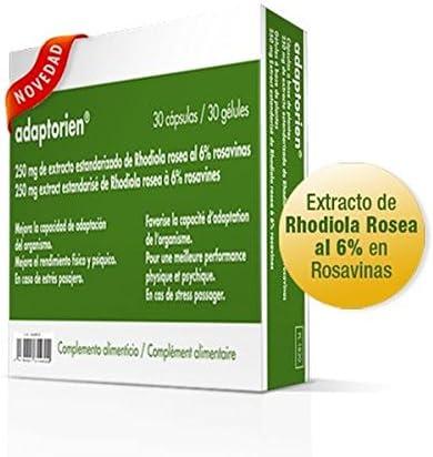 Adaptorien Rhodiola Rosea 30 Cápsulas de Ele2Pharma: Amazon.es ...