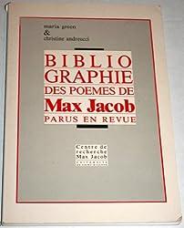 Bibliographie des poèmes de Max Jacob parus en revue
